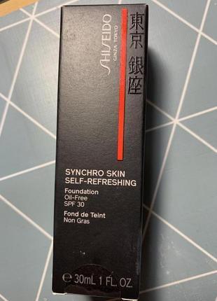 Оригинальная тональная основа shiseido4 фото