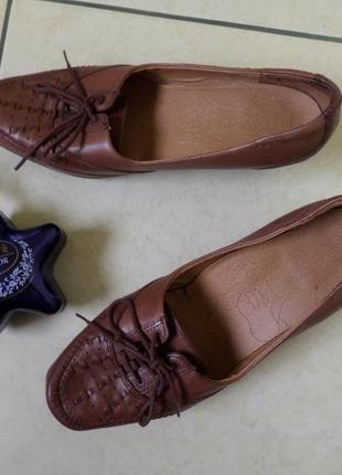 Footglove шкіряні туфлі 38р
