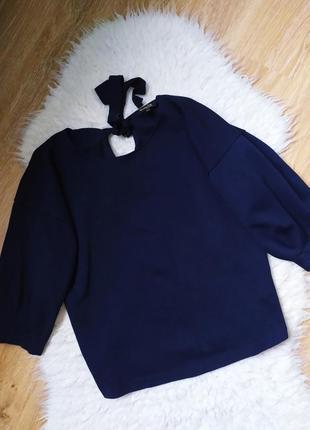 Фактурный топ блуза massimo dutti