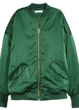 Бомбер h&m курточка косуха