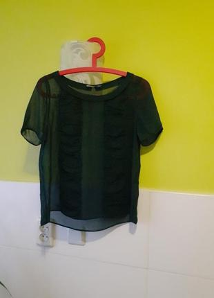 Шёлковая блуза cos