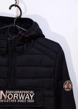 Анорак geographical norway термо куртка микро пуховик / napapijiri