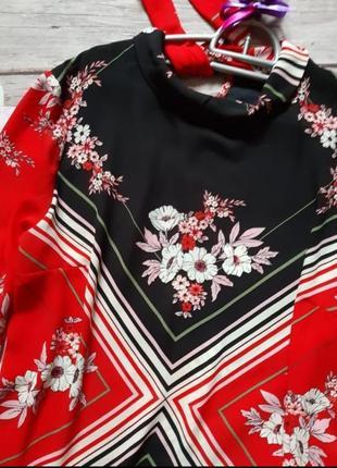 Стильная нарядная блузка шифоновая2 фото