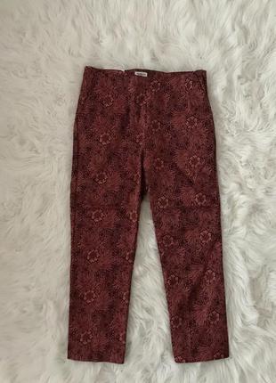 Шикарные укороченные брюки h&m. новая авторская коллекция.