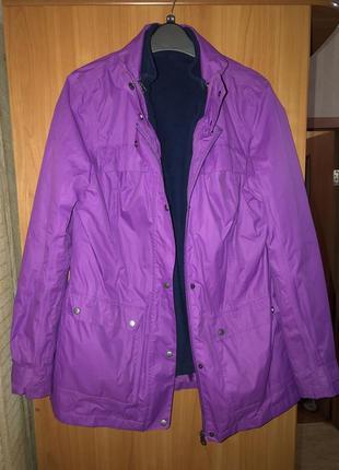 Стильная куртка с флисовой подкладкой