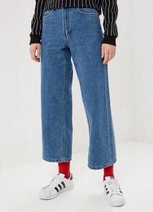 Актуальные джинсы кюллоты jennyfer