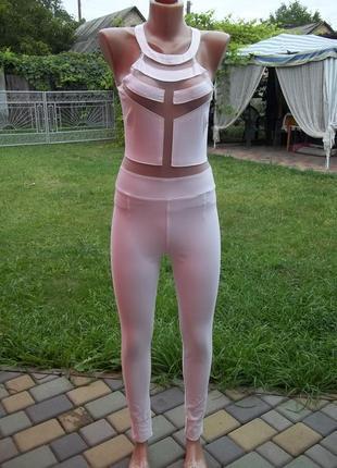 ( 42 / 44 р) tally weijl стрейчевый комбинезон костюм женский новый