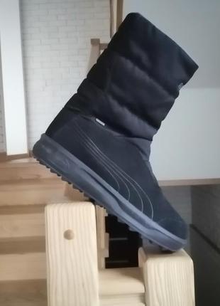 Оригінальні дуже теплі водонепроникні зимові кросівки черевики puma gore-tex