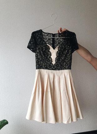 Коктейльное вечернее платье chi chi london