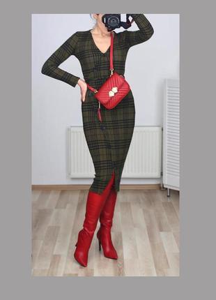 Распродажа!!!шикарное платье рубчик в клетку,приятная ткань,халат,кимоно на пуговицах