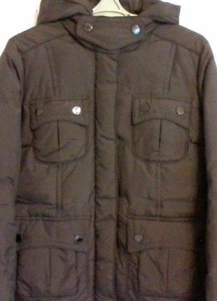 Пуховик куртка от massimo dutti, разм. 46