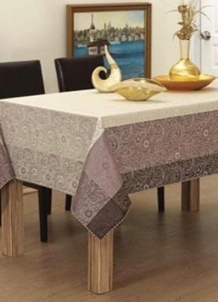 Красивая пастельная скатерть.скатерть турецкий текстиль. 160*220 см, есть цвета