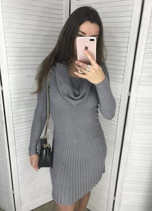 Красивое кашемировое платье intrama s/m