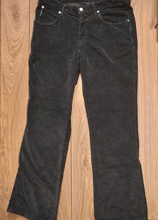 Брендові велюрові жіночі джинси стрейч від armani jeans