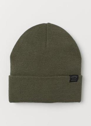 Демисезонная двойная шапка для мальчика h&m, размер 1,5-4, 4-8, 8-12, 12-14 лет