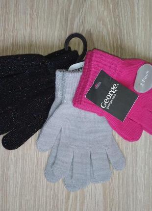Рукавички перчатки джордж комплект