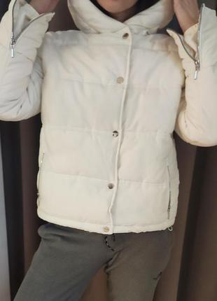 Куртка зимняя, крутой бомбер tu