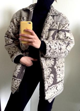 Зимнее пальто на молнии размер с