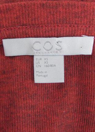 Cos оверсайз пуловер  30% шерсть, 70% вискоза4