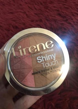 Lirene минеральный бронзатор 💞