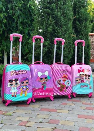 Детский чемодан из пластика - дитяча валіза з пластику