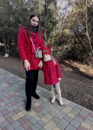 Пальта мама+дочка