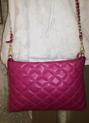 Бесподобная кожаная сумочка borse in pelle