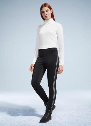 Плотные утепленные брюки для стильного образа, tchibo(германия), р.наш: 46=40/42евро