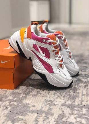 ❤️крутые кожаные женские кроссовки nike air m2k tekno