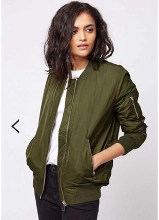 Бомбер, куртка topshop p.s-м.