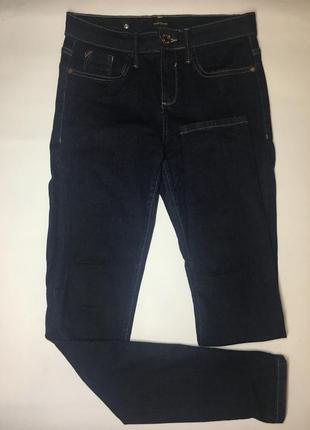 Джинсовые штаны джинсы темные