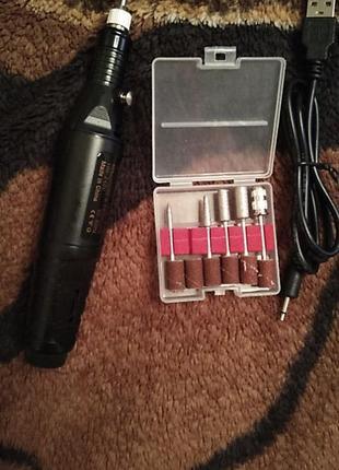 Электрическая пилочка ручка удаление кутикулы