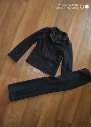 Школьная форма костюм пиджак штаны