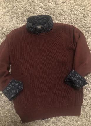Комплект primark рубашка свитер