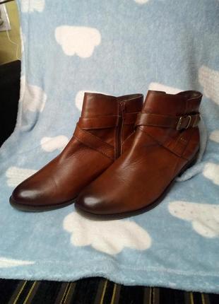 Ботинки footglove 40p кожа