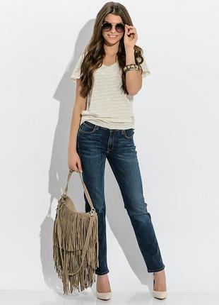 Бомбезні протерті джинси для високої дами kingzjeans 29м.