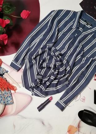 Рубашка оверсайз debenhams, 100% вискоза, размер 16/44