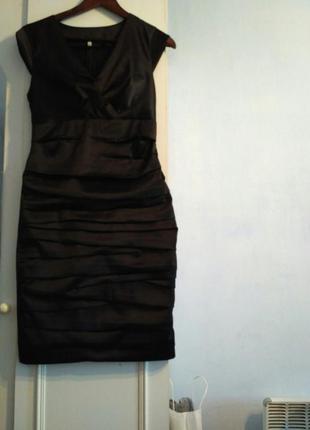 Атласне плаття 44 розміру