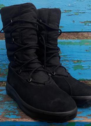 Оригинальные ботинки puma cimomonte ii 2 gore-tex 41 размера 26.5 см