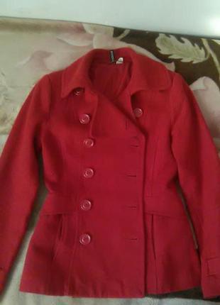Кашемировое пальто h&m
