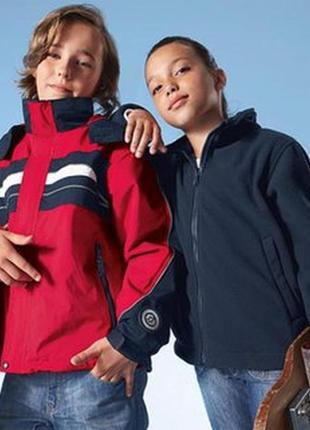 Всепогодная куртка 3 в 1 tcm tchibo германия 134-140