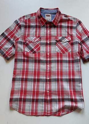 Рубашка в клетку , шведка тениска