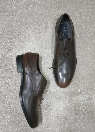 Bugatti, классические кожаные туфли