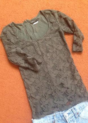 Кофта ажурная, блуза