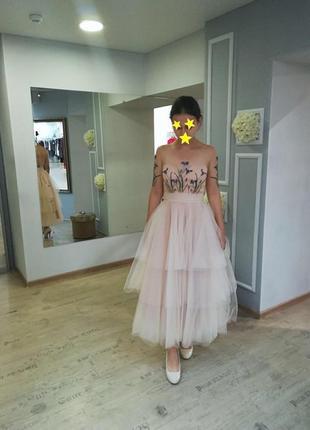 Выпускное платье от алены горецкой