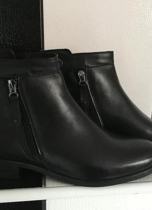 Ботинки кожаные р 36