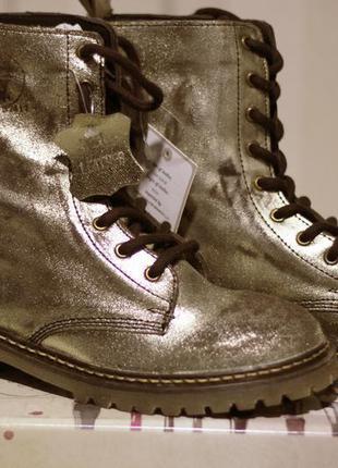 202ac5da1 ... Сапоги женские золотые, ботинки coolway, натуральная кожа, размер 374  фото ...