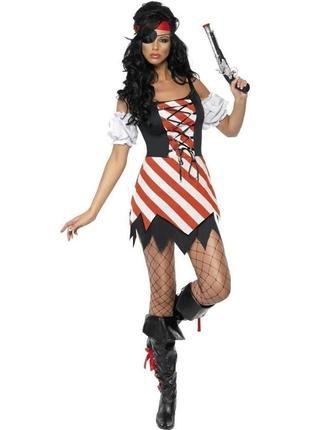 Пиратка 44 костюм карнавальный