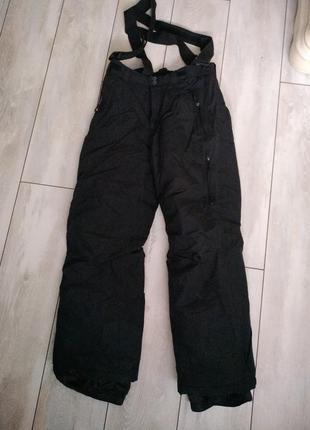 Лыжные брюки с лямками