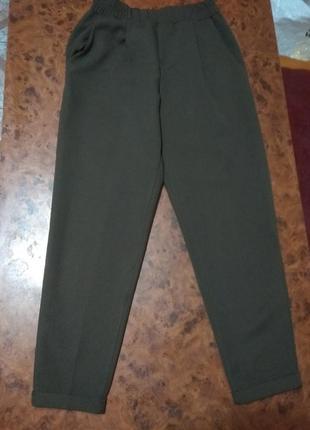 Укороченные брюки для девочки